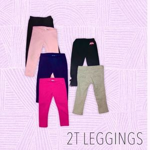 2T (6) Pairs of pants